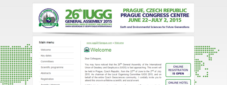 26th IUGG General Assembly announces more than 5 650 received abstract submissions!