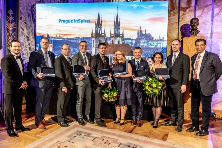 Ambassador Awards Evening 2018: two awards presented to clients of C-IN
