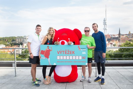 The sport-charity happening TERIBEAR moves Prague was a great success