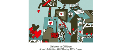 Invitation to the Children to children exhibition during the paediatric cardiology congress.