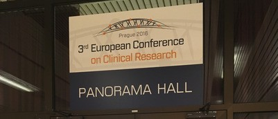 Only the third conference on clinical research so far is on in Prague.